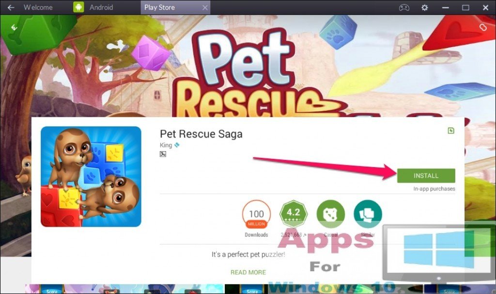 pet rescue saga download for pc windows 10