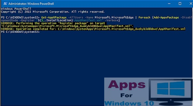 PowerShell_Windows10