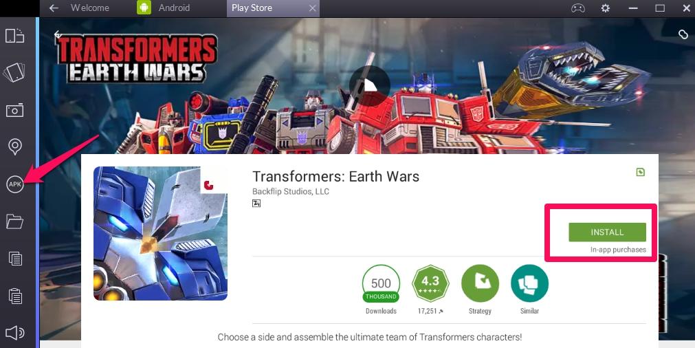 скачать игру трансформеры на земле на компьютер - фото 3