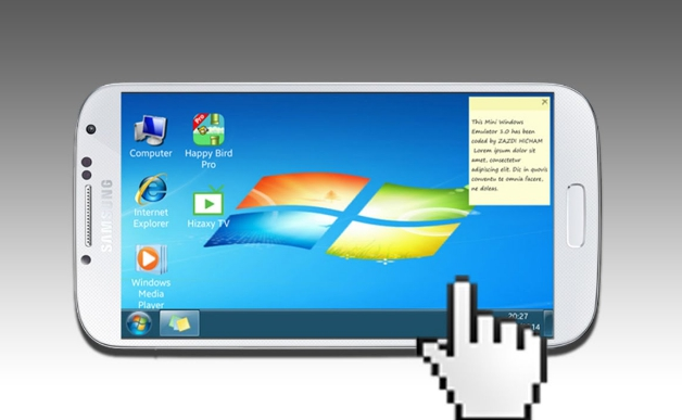 control and access windows from android device