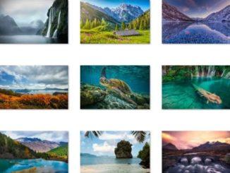 world-national-parks-theme-windows-10