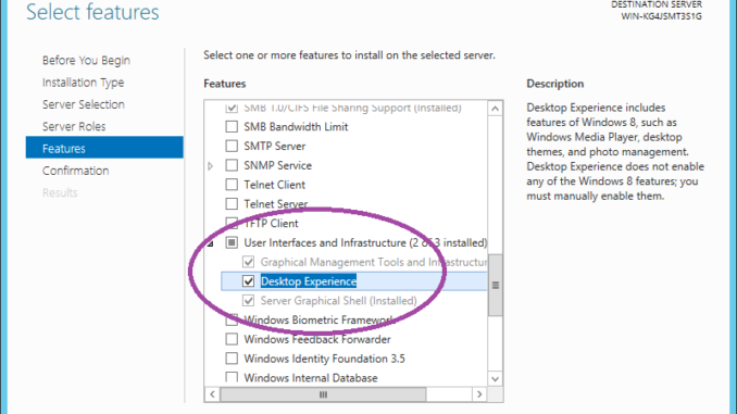windows Server 2012 R2 Snipping Tool